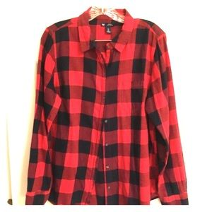 Gap Flannel Shirt Size L